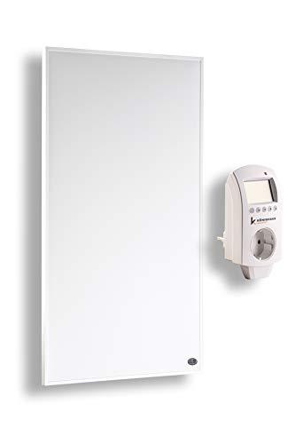 Infrarot Heizung 800 Watt mit TÜV + 10 Jahre Garantie ✓Inkl. Thermostat ✓Infrarotheizung für 12-34m² (800W)