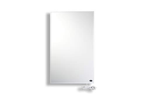 Könighaus Fern Infrarot Heizung 600 Watt mit Thermostat ✓ GS TÜV ✓ Deutscher Hersteller ✓ 30 Tage Geld-Zurück-Garantie ✓ neueste Technologie ✓ 10 Jahre Herstellergarantie ✓ Elektroheizung mit Überhitzungsschutz ✓ Heizt 8 -18m² Raum …