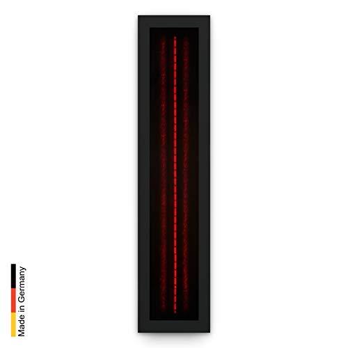 Infrarotstrahler für Sauna RotLicht Frame Black, artvion (500 Watt)