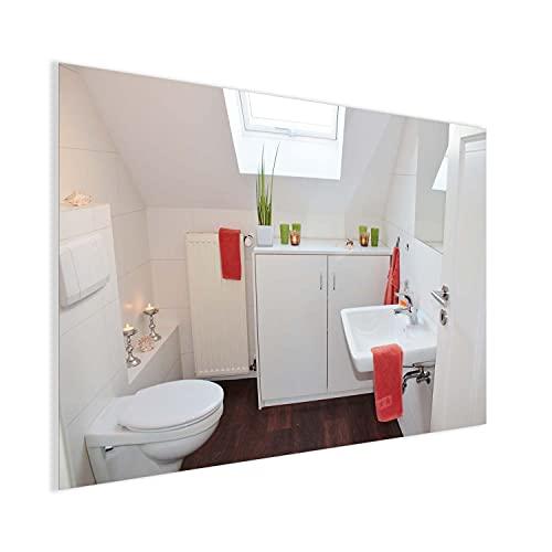 Ecowelle Infrarotheizung Spiegelheizung | 320W bis 720W | mit Ein-/Ausschalter | 120x60cm | Spiegel Heizung Infrarot Wandheizung Heizplatte Heizpaneel