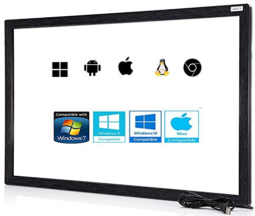 24' 10 Punkt Multi-Touch Infrarot Touch Rahmen, IR Touch Panel, Infrarot Touch Screen Overlay