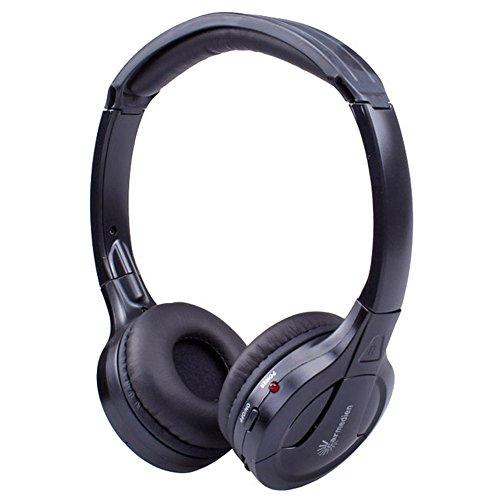 Stereo Infrarot Kopfhörer schnurlos IR Headphone Auto Car DVD Multimedia System Monitor Wireless