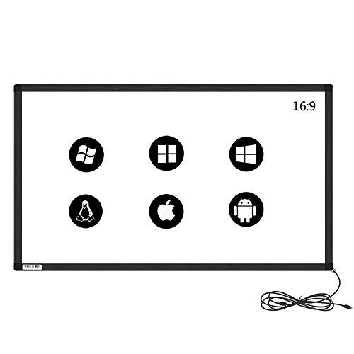 GreenTouch 139,7 cm 10 Punkte Infrarot-Touch-Rahmen, ir-Touch-Blende, ir-Touch-Overlay für Touchscreen-Monitor