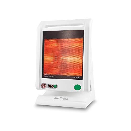 Medisana IR 885 Infrarot-Wärmelampe 300 Watt, Infrarotleuchte zur Behandlung von Verspannungen und Erkältungen, Wärmestrahler zur Linderung von Schmerzen