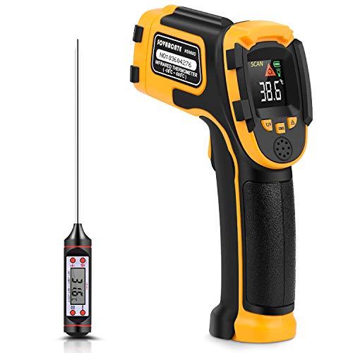 Infrarot Thermometer Digitale Laser-Temperaturpistole -58°F~1112°F (-50°C~600°C) Nicht Menschliches Körperthermometer - für Kochen/Barbecue/Gefrierschrank/Industrie