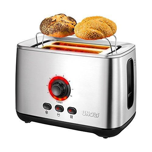 Unold 38955 Toaster Turbo Weltneuheit, 2100 W