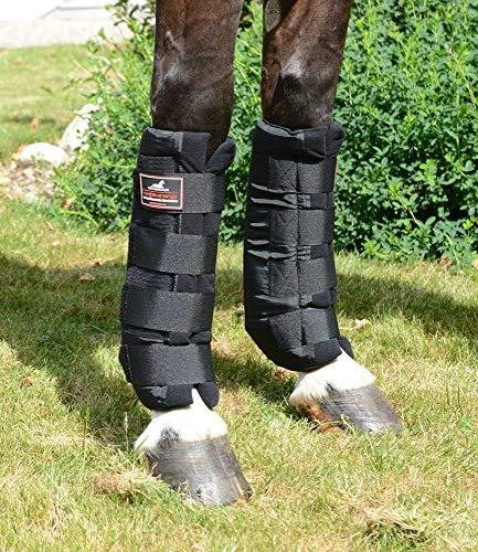 VITANDAR Therapeutische Stallgamaschen für Pferde mit Infraroteffekt, Classic, 1 Paar, vorn, Gr. L