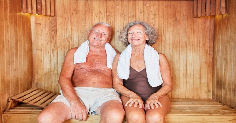 Infrarotsauna bei Senioren