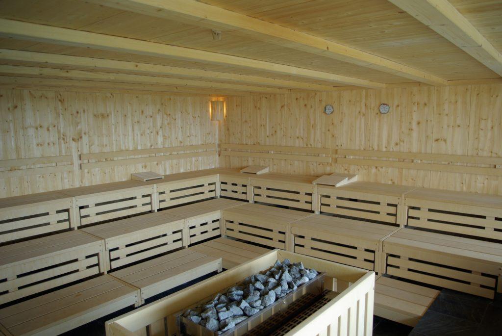 Infrarotsauna mit Saunaofen